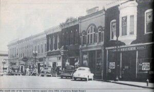 Historic Downtown Liberty 1952
