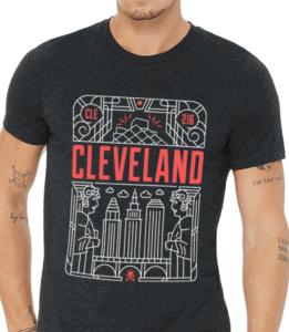 Cleveland souvenir t-shirts