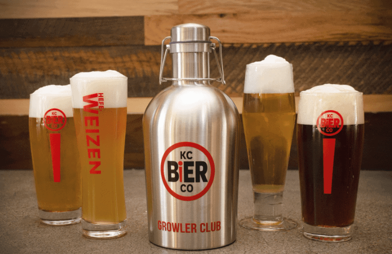 growler of beer