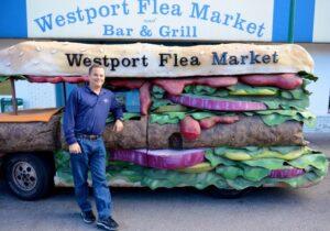 The Flea Burger Truck
