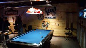 The Jockey Club pool table