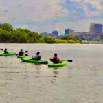 kayakers on river